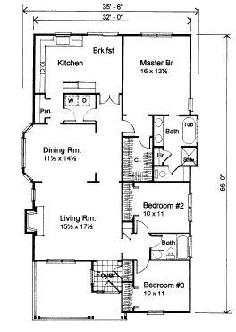 Best 25 Bungalow House Plans Ideas On Pinterest Cottage