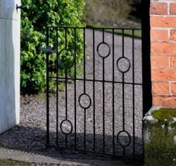 Picasso 4 (122cm)  Wrought Iron Garden Gate