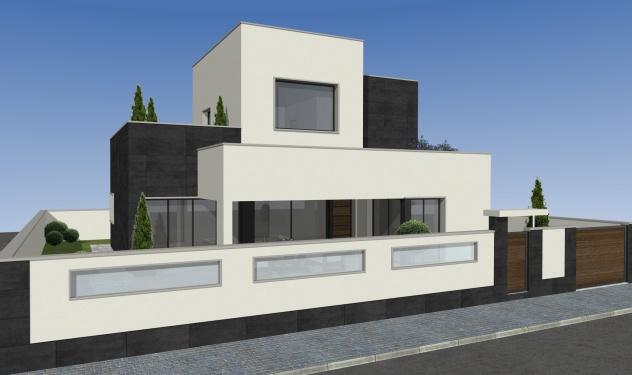 Chalet, Diseño, Mil Palmeras, Alicante