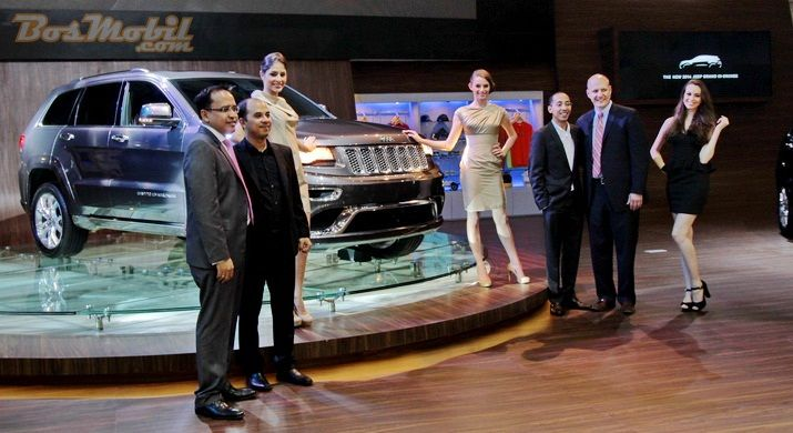 Jeep Grand Cherokee 2014 Ramaikan IIMS 2013 #IIMS2013 #BosMobil