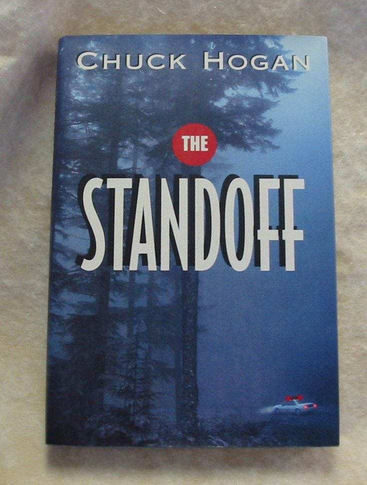 Vintage 1st Ed 1995 Novel ~ The Standoff ~ Chuck Hogan ~ Crime Suspense FBI