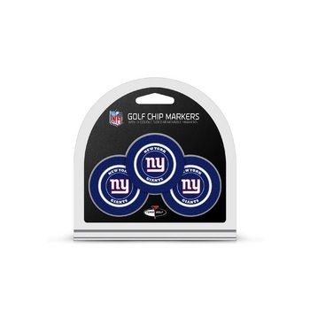 New York Giants Golf Chip with Marker 3 Pack