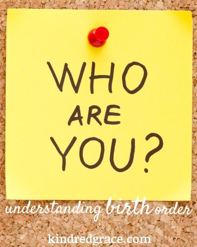 Understanding birth order means you know where your faults and temptations lie, and what you really need to work on.   Kalyn of @Kalyn Brooke {Creative Savings} joins us to talk about #birthorder: http://kindredgrace.com/understanding-birth-order/