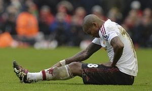 Manchester Uniteds Ashley Young out for long time with serious groin injury