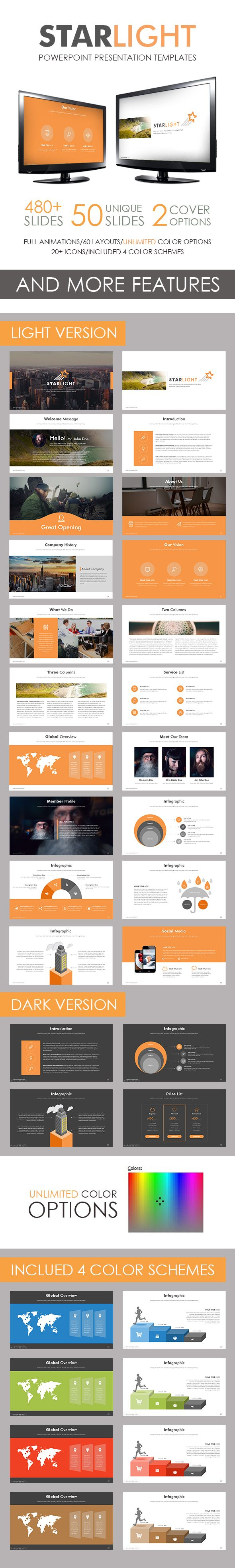 Starlight PowerPoint Presntation Template. Download here: http://graphicriver.net/item/starlight-powerpoint-template/15530605?ref=ksioks