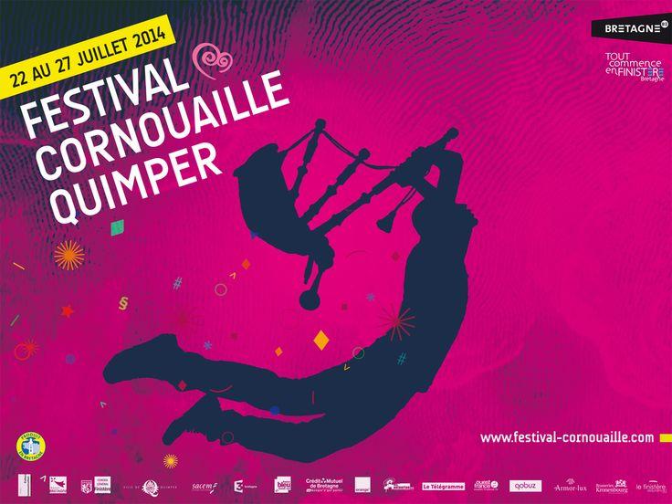 Festival de Cornouaille à Quimper du 22 au 27 juillet. Tout le programme sur http://www.festival-cornouaille.com