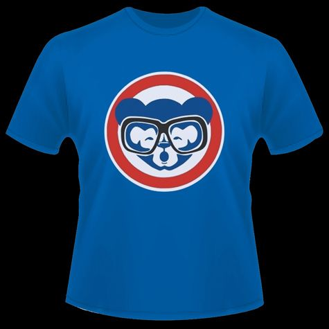 Harry Cubby Caray Glasses - Holy Cow - Chicago Cubs - T - Shirts