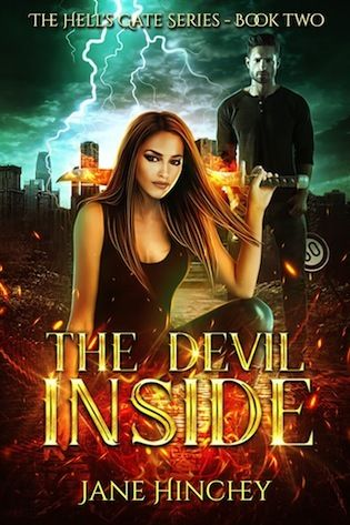 The Devil Inside, Hell's Gate, Adult, Paranormal, Romance, Jane Hinchey