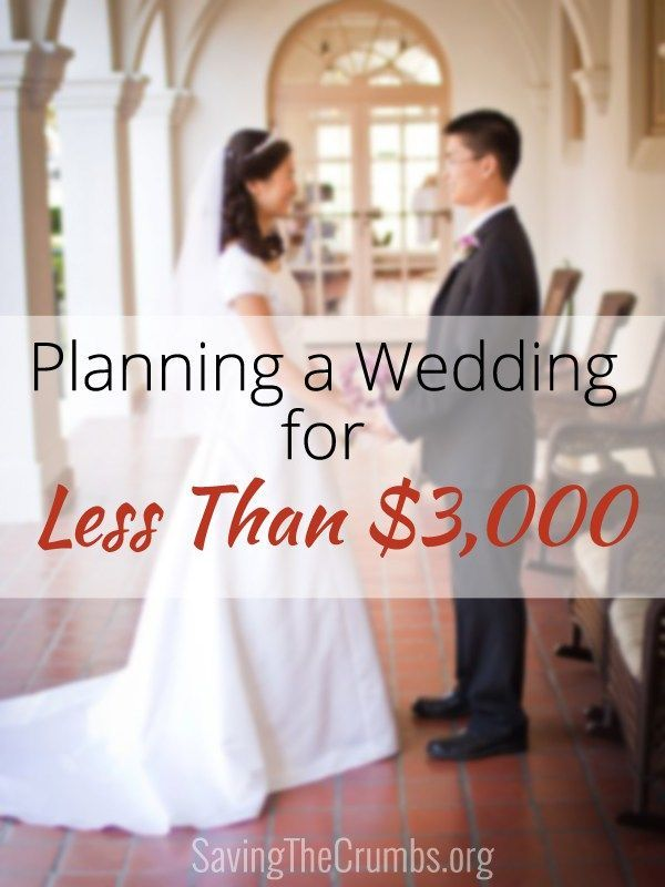 Planning a Wedding for Less Than $3,000