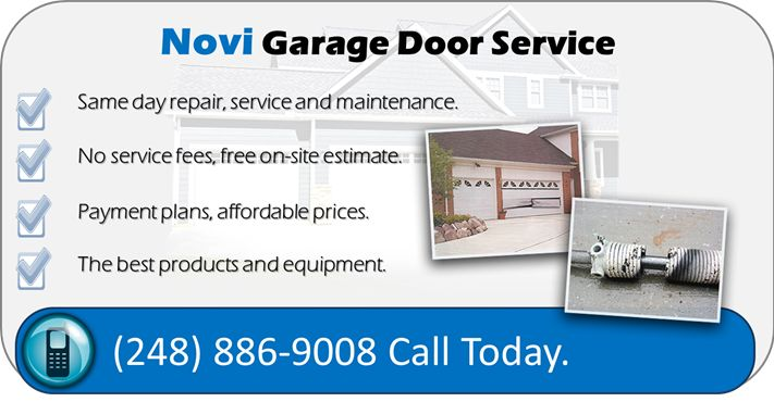 Novi MI Garage Door Service Will Give You The Best Garage Door Repair And  Installation Services