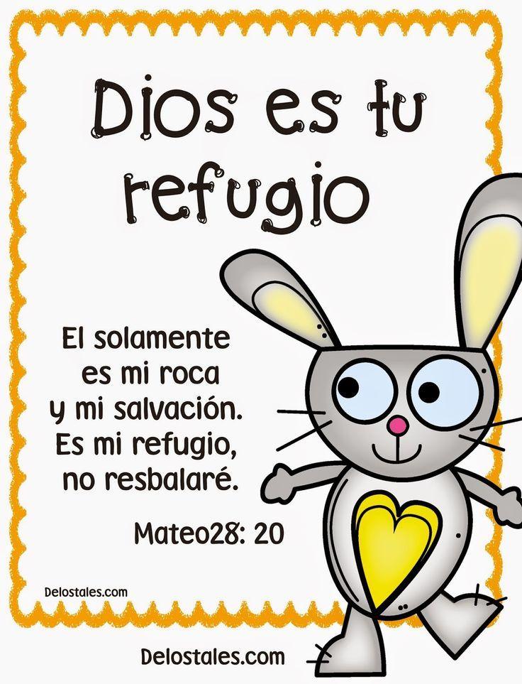 α JESUS NUESTRO SALVADOR Ω: Dios es tu refugio tu roca y tu salvacioón