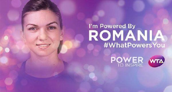 FOTO Simona Halep spune ce o inspiră în jocul de tenis: ROMANIA
