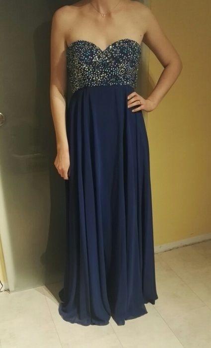 Königsblaues Abendkleid von Festamo
