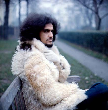 Caetano Veloso during his exile in London