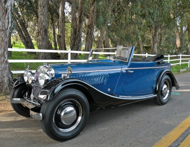 1952 Morgan Plus 4 Drophead Coupe