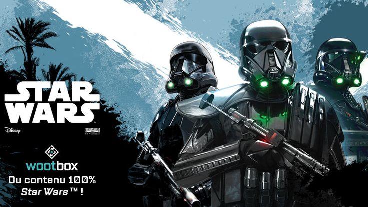 En décembre, la Force se révèle à vous par le biais d'une Wootbox au contenu 100 % STAR WARS ! Oubliez les sapins, les lutins, les rennes et autres sympathisants de Noël. L'heure est venue d'exécuter l'ordre 66 !