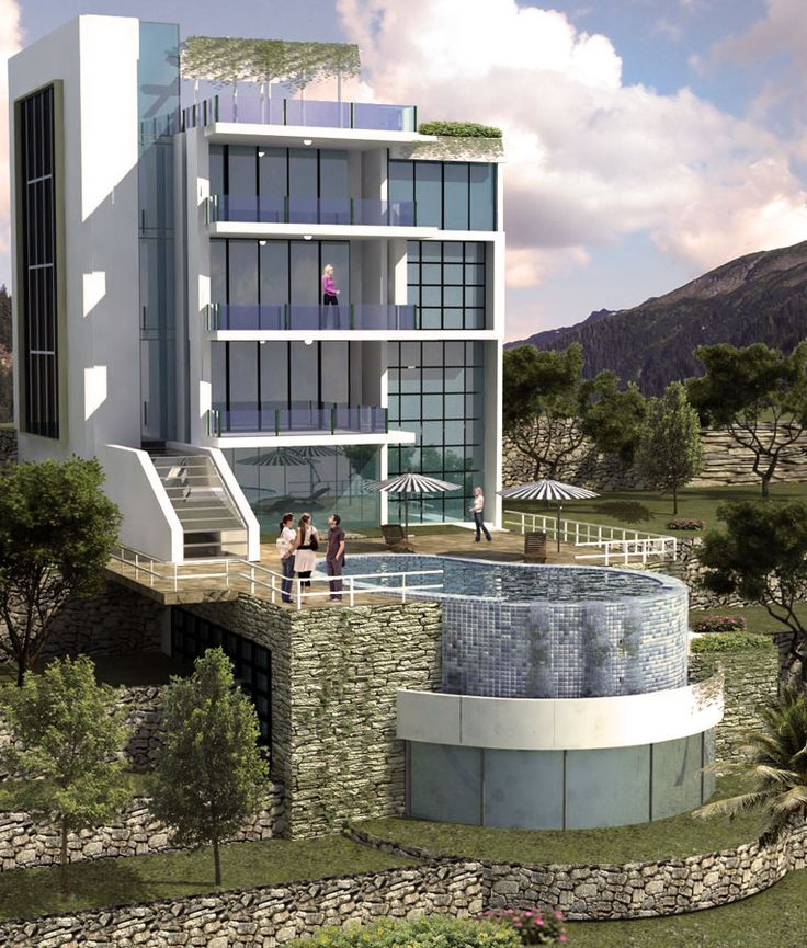 ARK - KASSAM | Architectural & Engineering Consultations | Projects | Private villa in Village