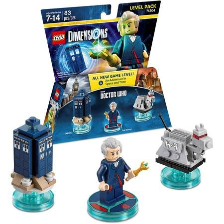 Both- LEGO Dimensions packs (picture of Doctor Who set is purely coincidental)