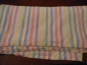 Under the candlewick bedspread, the paisley patterned eiderdown and the blankets (mine were pink) came these candy striped flannelette sheets  ...  and they were soft and soothing.
