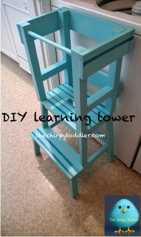 learning tower gives toddlers independence learning tower and woodworking. Black Bedroom Furniture Sets. Home Design Ideas