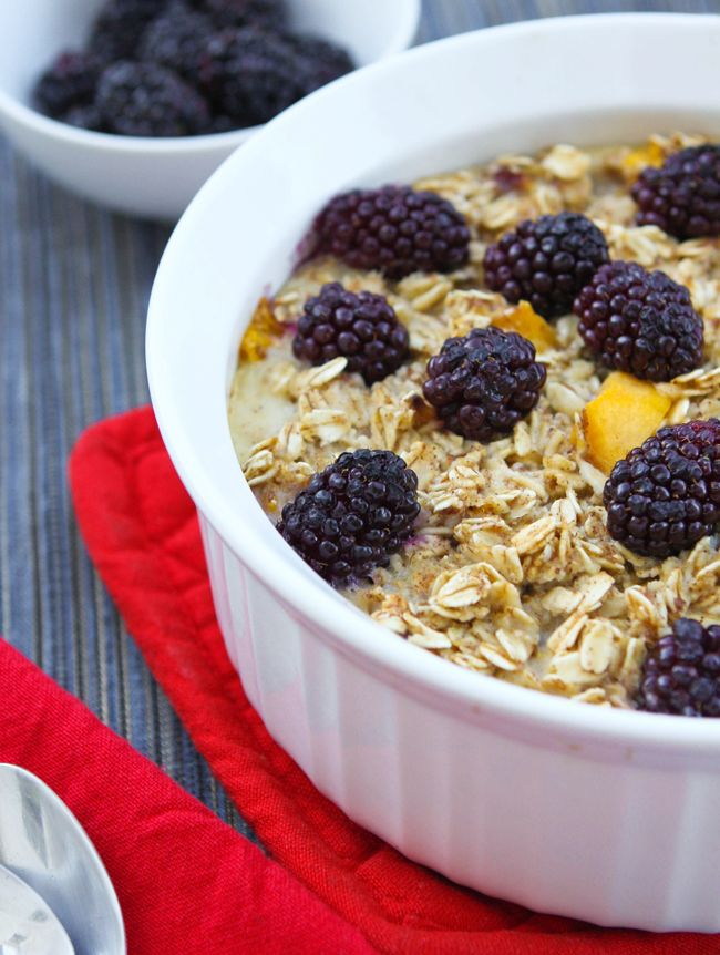healthy baked oatmeal with fruit healthy fruit pie