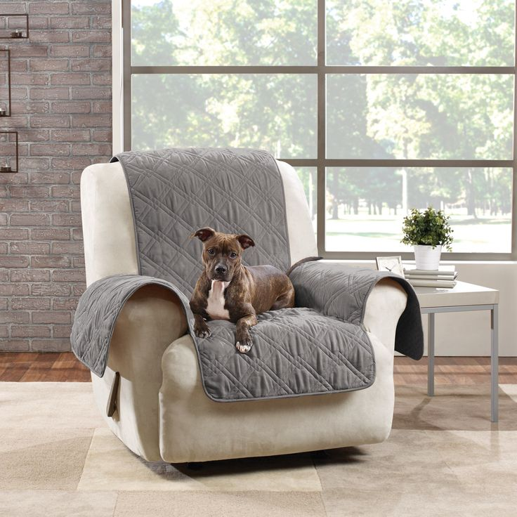 Sure Fit Microfiber Quilted Pet Throw Recliner Cover & Best 25+ Recliner cover ideas on Pinterest | How to reupholster ... islam-shia.org