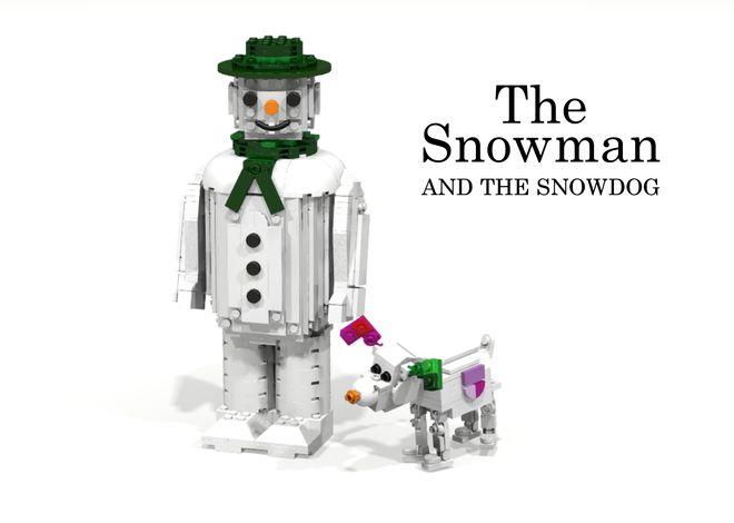 LEGO Ideas - The Snowman And The Snowdog