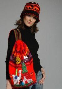 Рюкзак Арпи (Большой) арт580 - Шерстяные - пончо, свитера, юбки, платья, куртки, кардиганы, накидки, пледы, детские свитера, шапки, шарфы, рейтузы, футбольки, ковры, рубашки, безрукавки, летные платья, палантины - ПЕРУ