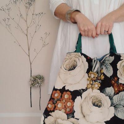 the linen garden bag