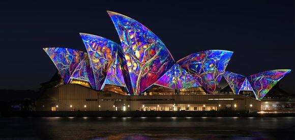 Vivid Sydney - a spectacular annual festival of light, music  ideas 23 May - 9 June 2014  http://bit.ly/1lxg9oa  #Sydney #NewSouthWales #Australia #travel #vivid