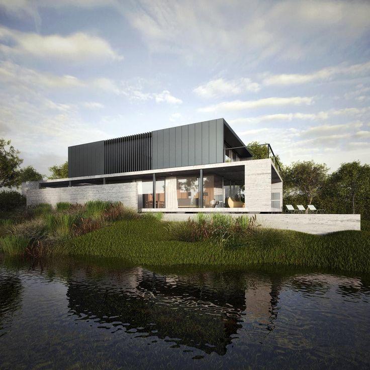 Architekti - Spousta staveb z přiznaného betonu