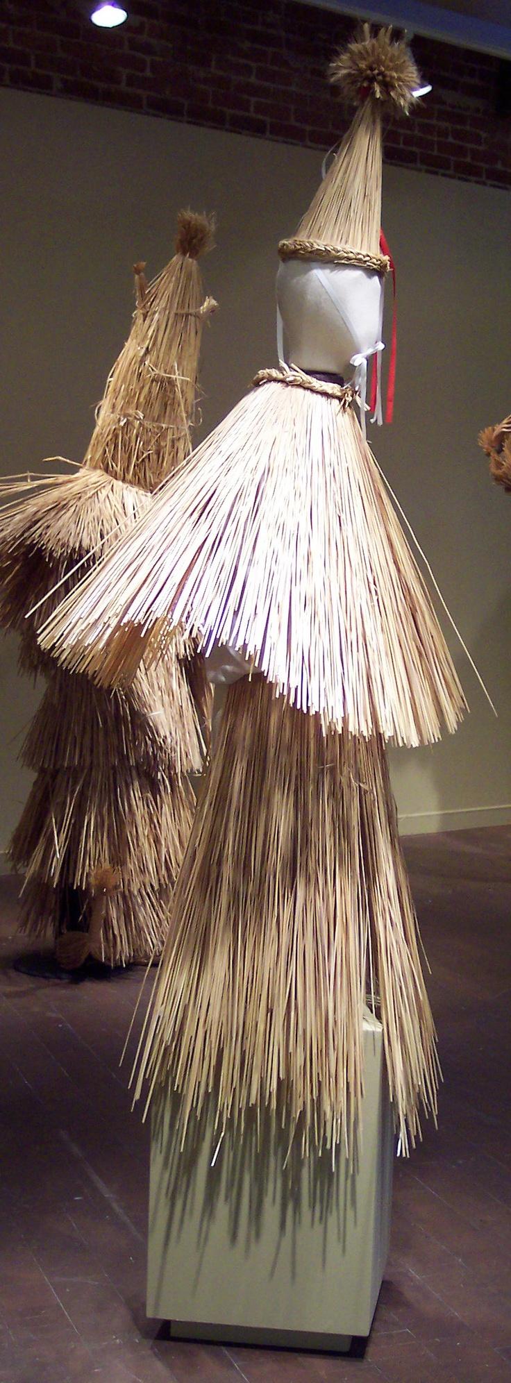 Slovak Straw Carnival Costume