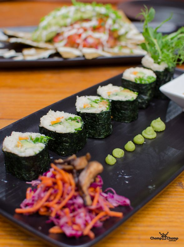 Raw sushi (The Raw Kitchen)