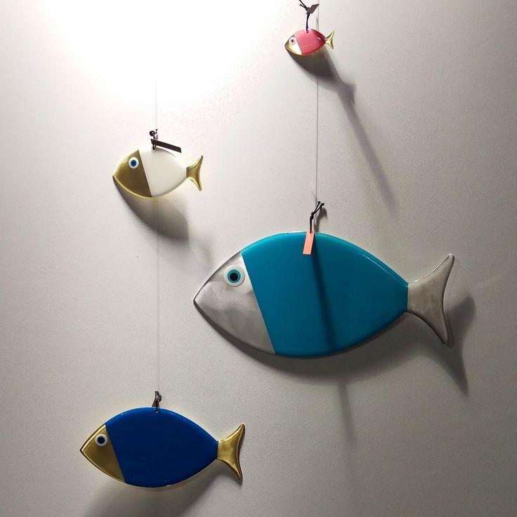"Big fish Small fish !! lucky eye ""mati"" fish **handmade in Greece Καινούργια σχέδια ✔✔✔ σε διαφορετικά χρώματα και μέγεθη!!! mánia, Πυλαρινού 37, Κόρινθος ☎ 2741022557 www.facebook.com/mania.korinthos #mániashop #mánia #Korinthos #new #Mati #fish #sea #Luck #eye #protectyourself #colours #handmade #madeinGreece #oneofakind #unique #giftideas #homedecor #Greece"