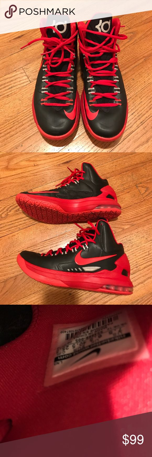Nike Kevin Durant basketball shoes Excellent condition basketball shoes Nike Shoes Sneakers