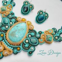 soutache necklace turquoise (21)