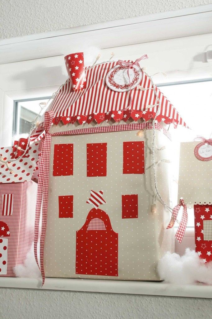 DIY Dezember acufactum Weihnachtsdorf Paket weiss