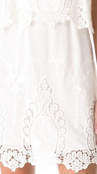 front (bottom) of dress by Dolce Vita