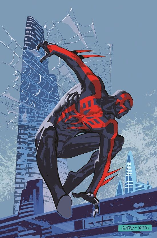 First Look At Spider-Man 2099 #1 | Comicbook.com