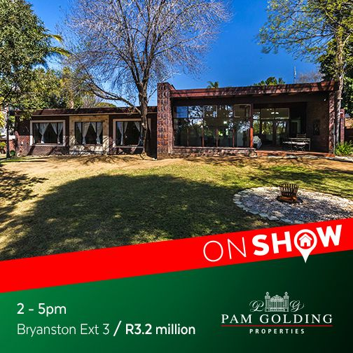On Show Sunday 2 October from 2 - 5pm. Click for more information. #OnShow #ForSale #Bryanston