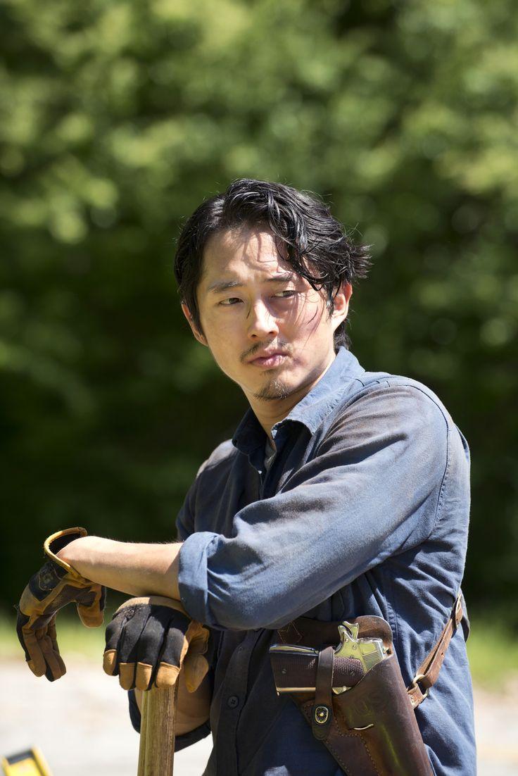 The Walking Dead Glenn Stirbt
