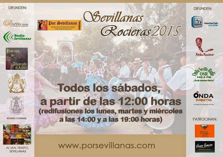 """Por  SEVILLANAS: Este sábado comienzan las emisiones de """"Sevillanas...  >>escuchar sevillanas"""