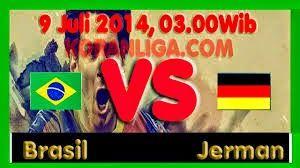 Prediksi Hasil Akhir Empat Besar FIFA World Cup 2014 : Brasil vs Jerman