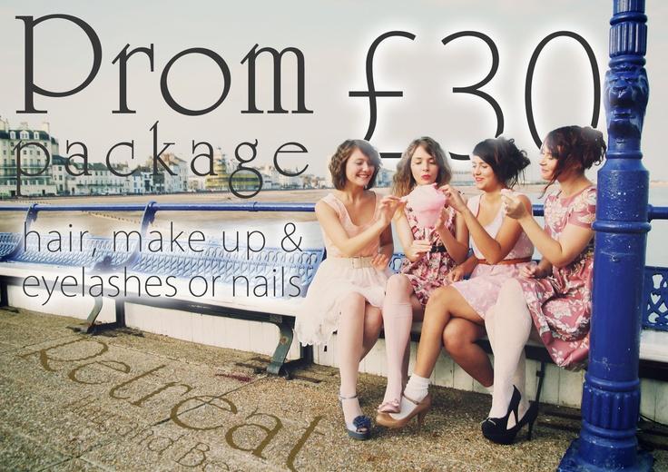 Prom flyer    Direct marketing