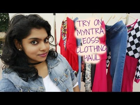Try On Clothing Haul |Myntra Sale |Cold Shoulder tops & More I love watching haul videos, it gives me a lot of happiness, lifts my mood up and makes me want to shop. I am sharing my online shopping experience with Myntra End of Season Sale or EOSS where in I try on all the clothing I bought from them. It includes the current trend cold shoulder tops, how I pair them, distressed jeans, floral tops, off shoulder tops and many more.