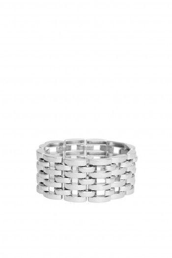 Maxime Bracelet metallic grey by Cheap Monday