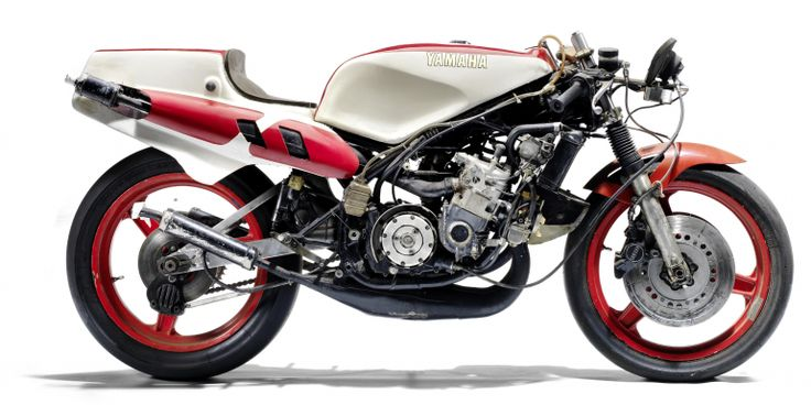 This TZ500J was raced extensively in the Far East during the 1980s, mainly by the Malaysia...