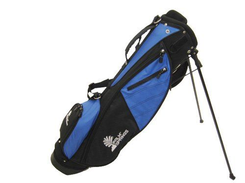 PALM SPRINGS Sunday Golf Bag w/stand Blue/Black