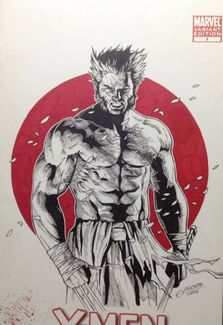 Logan - Wolverine by Geebo Vigonte *