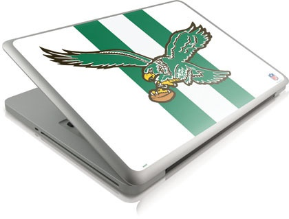 "Want want want. ""Skinit Philadelphia Eagles Retro Logo Flag Skin for Apple Macbook Pro 13 2011 